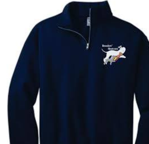 Breeders' Showcase 1/4 Zip Sweatshirt